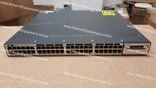 Cisco WS-C3750X-48PF-E PoE+ IP SERVICES LICENSE 10 Gigabit 3750X-48PF-E switch