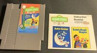 Sesame Street 123 - Nintendo NES - Game with Manual - FREE SHIPPING