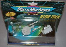 STAR TREK : MICROMACHINES ENTERPRISE, GALILEO II, SPACE STATION K-7 MODELS