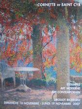 Catalogue vente Art contemporain Diego Giacometti Arman Georges Minne