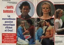 Coupure de presse Clipping 1987 Santa Barbara Eden & Cruz  (6 pages)