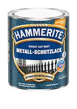 Hammerite Hammerschlag silbergrau 2,5 L Metallschutz Rostschutz Lackierung Neu
