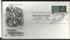 10/1/91 Space Exploration Issue FDC  No. 1
