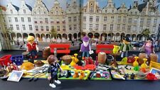 PLAYMOBIL BRADERIE LILLE BROCANTE MARCHE PUCES VILLE MODER CITY ACTION PIECES