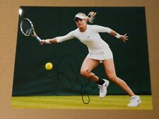 Eugenie Bouchard Canada Tennis signed 8x10 photo