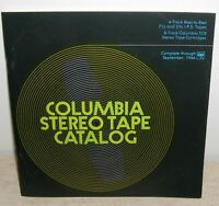 Columbia Stereo Tape Catalog September 1966 - Reel To Reel & 8 Track Tapes