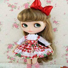 "For 12"" Neo Blythe doll Takara doll 2Pcs Fashion Colorful Dress/clothing set"