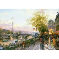 Thomas Kinkade Paris Eiffel Tower 1000 Piece Jigsaw Puzzle