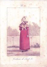 G 14-GATINE-COSTUME DE SAINT LÔ-NORMANDIE-1830