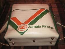 ZAMBIA AIRWAYS BAG 70/80s OLD VINTAGE