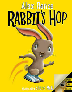 Alex Rance bounces back with Rabbit's Hop!  Kids Reading Book
