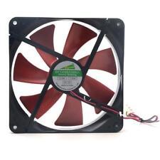 Best silent quiet 140mm pc case cooling fans 14cm DC 12V 4D plug computer cooler