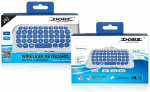 New 2.4G Wireless Bluetooth Keyboard Chatpad for PlayStation4 / Slim / PS4 Pro