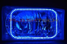 RGB Multi-Color LED Halo Ring Headlight Kit for Ford F-250  99-04 IR Remote
