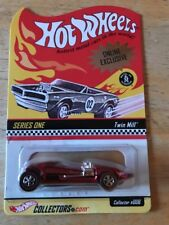 Hot Wheels RLC Series 1 Online Exclusive Twin Mill Rare New HWC 3765/10000