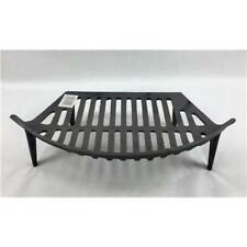 "16"" Single Fire Grate Bottom Base Bow Fronted Cast Iron"