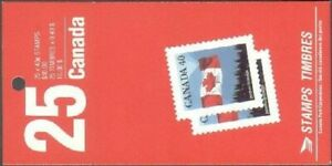 Canada 1169a booklet, MNH. Flag and Mountains, 1990.
