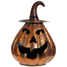 """Pumpkin with Witch Hat - 14"""""""
