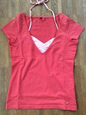 Süßes ESPRIT Lagen-Stretch-Shirt Koralle/Rosa M Shirt+Neckholder