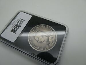 Superb Silver Crown 1889 Jubilee Head  Victoria slabbed and numbered 3278889
