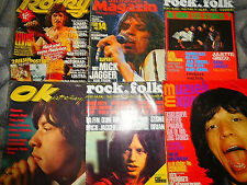 ROLLING STONES  3245 TEILE/PARTS  10,6  KILO  CLIPPINGS  LOT 0118