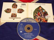 Tears for Fears-laid so low/Tears Roll Down) 3 TRK MAXI CD 1992 DIGIPAK
