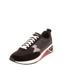 RRP €120 DIESEL S-KB LOW LACE II Sneakers EU 42.5 UK 8.5 US 9.5 Contrast Suede