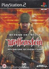 RETURN TO CASTLE WOLFENSTEIN - OPERATION RESURRECTION for Playstation 2 PS2