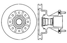 Centric Parts 121.65074 Front Disc Brake Rotor