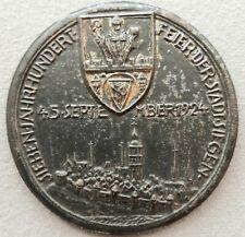 Stadt Siegen Eisengussmedaille 1924,700 Jahrfeier der Stadt.