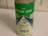 SEM Color Coat Vinyl Plastic Paint, Cone Top Quart Can, Fast Yellow 15516