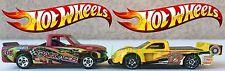 Hot Wheels - 1996 Chevy 1500 - 1995 MI & Pikes Peak Tacoma - 1999 MI - 2 Trucks