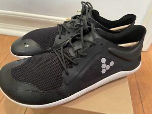 vivobarefoot primus lite ii mens black size 45 12