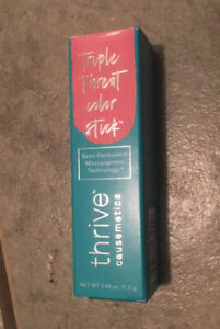 THRIVE Causemetics Triple Threat Color Stick Maggie Rose shimmer New in Box