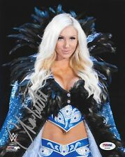 CHARLOTTE FLAIR WWE DIVA SIGNED AUTOGRAPH 8X10 PHOTO #6 PSA/DNA COA