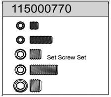 Ansmann Racing Set Screw Set For X8 115000770