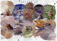 Netherlands 2018 MNH Reptiles & Amphibians 10v S/A M/S Frogs Snakes Toads Stamps