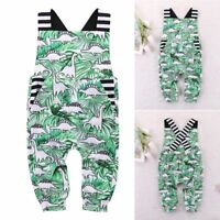 New Summer Newborn Infant Girl Boy Outfit Clothes Baby Bodysuit Romper Jumpsuit