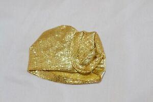 "NM 1978 SUPERSIZE SUPERSTAR BARBIE #2343 GOLD TURBAN HAT RARE SUPER SIZE FR 18"""