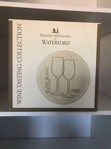 Robert Mondavi By Waterford Wine Glass