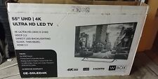 "Wbox 55"" Uhd ultra Hd Lcd Led 4k Oe55Led4K Tv new other in box!"