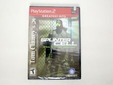 Splinter Cell game for Sony PlayStation 2 -New