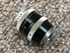 Kern Pizar 5.5mm f1.9 D Mount Prime Lens