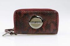 MIMCO MIM ZIP TECH PURSE CLARET RRP$179 BNWT Wallet Pouch Black Phone Bordeaux