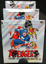 MARVEL AVENGERS SILVER Factory-Sealed Trading Card BOX [2015 Release]