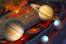 Brewster National Geographic Planets Solar system Mural NG94613