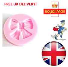 Ribbon Bow Silicone Mould Fondant Cake Topper Modelling Tools Mold UK
