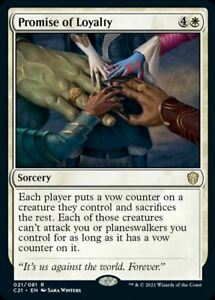 Promise of Loyalty [Commander 2021]