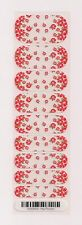 Authentic Jamberry May Flowers (on clear) - Half Sheet Retired Rare