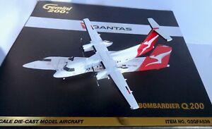 Gemini Jets, Qantas Link Bombardier Dash 8 Diecast Model Aircraft 1/200 G2QFA836